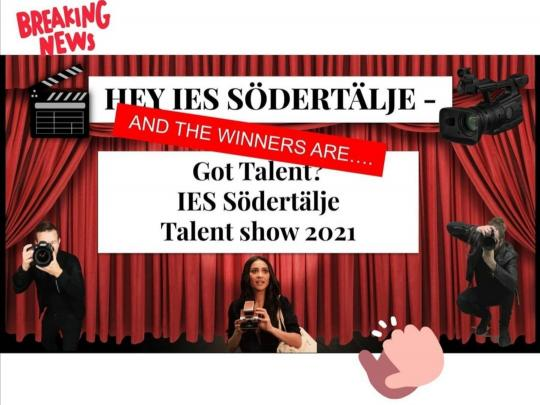 The Winners Of This Years Talent Show Are...